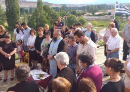 Πανηγυρικός εσπερινός στο παρεκκλήσι του Προφήτη Ηλία στην Aχλάδα (pics)