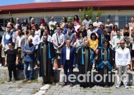 Ορκωμοσία αποφοίτων του τμήματος Εικαστικών και Εφαρμοσμένων Τεχνών Φλώρινας (pics)
