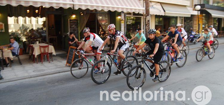 Ποδηλατοπορεία στη Φλώρινα στη μνήμη των Γιώργου Πράσσου και Γιώργου Μίλτση (video, pics)