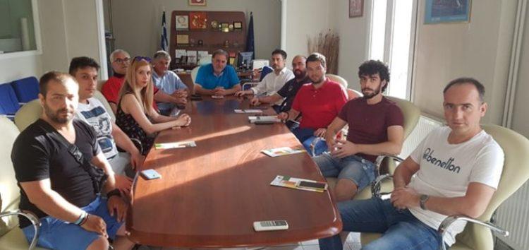 Το Επιμελητήριο επισκέφτηκε ο υποψήφιος βουλευτής Φλώρινας του ΚΙΝ.ΑΛ. Στέλιος Μαυρίδης