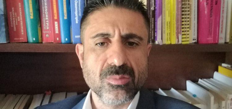 Δήλωση υποψηφιότητας του Νικόλαου Σαρηγιαννίδη για τη θέση του Αντιπρύτανη στο Πανεπιστήμιο Δυτικής Μακεδονίας