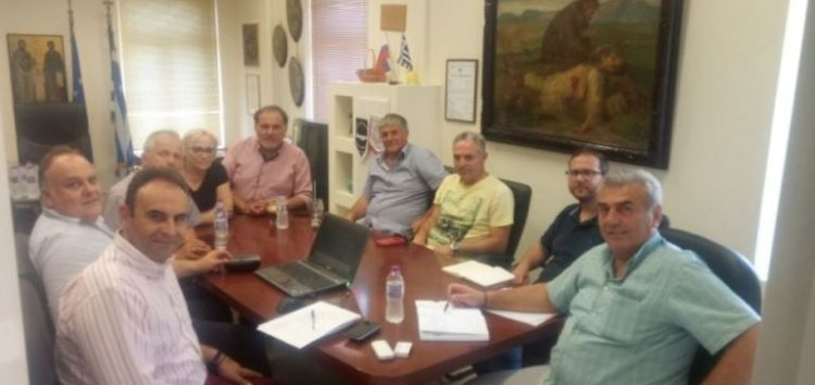 Επαφές του Επιμελητηρίου με τους δήμους Φλώρινας και Αμυνταίου για τα Ανοιχτά Κέντρα Εμπορίου