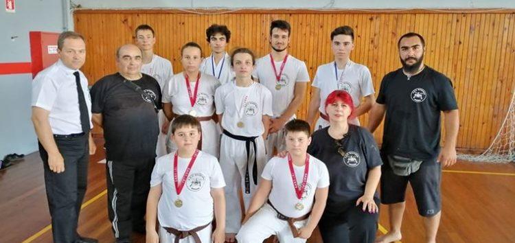 Ο Shogun σε διασυλλογικό πρωτάθλημα Πολεμικών Τεχνών στην Κατερίνη