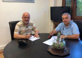 Βελτίωση οδού πρόσβασης σε γεωργικές εκμεταλλεύσεις στο δήμο Αμυνταίου