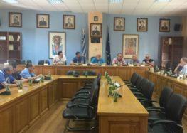 Σύσκεψη σχετικά με το έργο Ανοικτό Κέντρο Εμπορίου Αμυνταίου