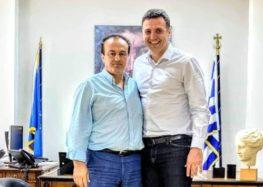 Συνάντηση του Γιάννη Αντωνιάδη με τον υπουργό Υγείας