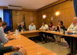 Συνάντηση φορέων της Φλώρινας με τον υπουργό Αγροτικής Ανάπτυξης (pics)