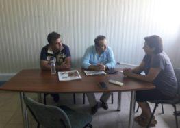 Επίσκεψη του βουλευτή Γιάννη Αντωνιάδη στα ψυγεία του Αγροτικού Συνεταιρισμού Ευρύτερης Περιοχής Αμυνταίου
