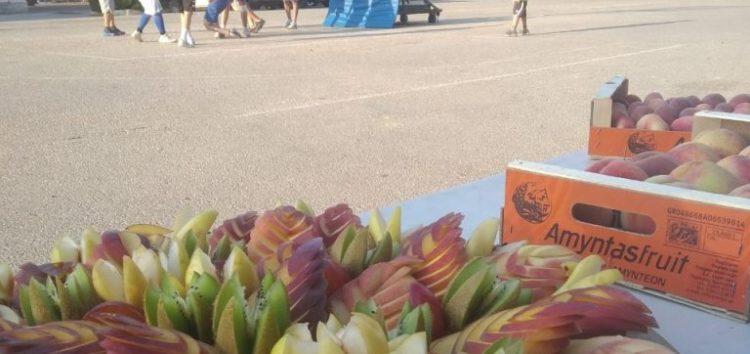 Ο Αγροτικός Συνεταιρισμός Αμυνταίου προσέφερε προϊόντα στο τουρνουά μπάσκετ του Αίαντα