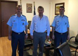 Συνεργασία του δημάρχου Αμυνταίου με τη διοίκηση της Αστυνομίας