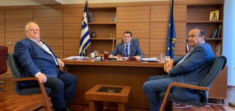 Στο υπουργείο Αγροτικής Ανάπτυξης ο βουλευτής Γ. Αντωνιάδης και ο δήμαρχος Πρεσπών