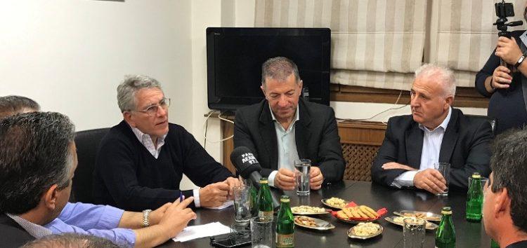 Επίσκεψη του υφυπουργού Ενέργειας στον δήμο Αμυνταίου