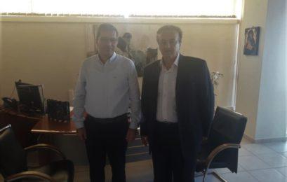 Συνάντηση του βουλευτή Γιάννη Αντωνιάδη με τον πρύτανη και αντιπρυτάνεις του Πανεπιστημίου