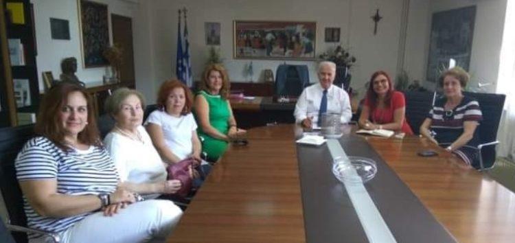 Επίσκεψη του Λυκείου Ελληνίδων Φλώρινας στο νέο αντιπεριφερειάρχη Ιωάννη Κιοσέ