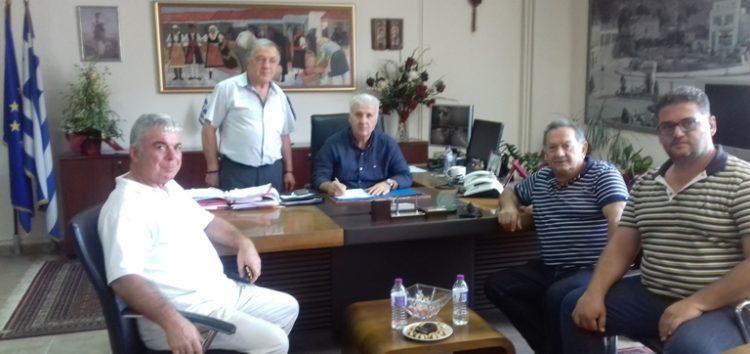 Υπογραφή σύμβασης για την εκτέλεση του έργου: «Αποκατάσταση – διαχείριση του αποστραγγιστικού δικτύου του τέως έλους Χειμαδίτιδας»