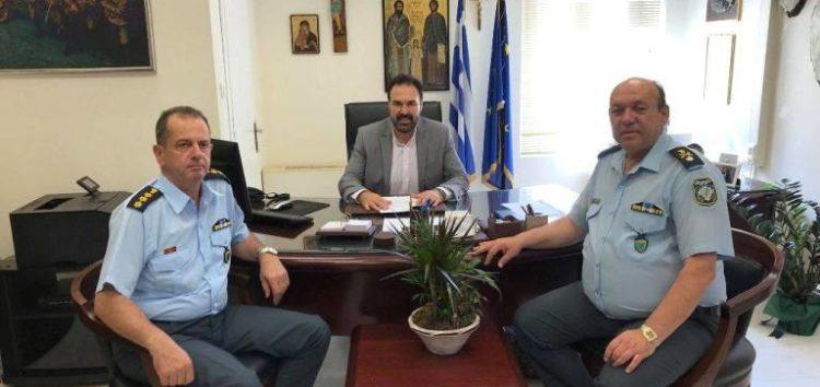 Τον Δήμαρχο Φλώρινας επισκέφτηκε ο Γενικός Περιφερειακός Αστυνομικός Διευθυντής Δυτικής Μακεδονίας
