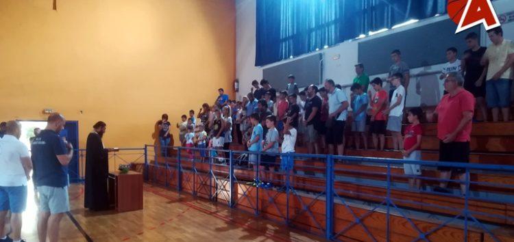 Πραγματοποιήθηκε ο καθιερωμένος αγιασμός των τμημάτων υποδομής του τμήματος basket του Αριστοτέλη Φλώρινας