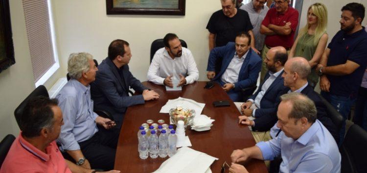 Κλιμάκιο βουλευτών της Νέας Δημοκρατίας επισκέφτηκε τον δήμαρχο Φλώρινας Βασίλη Γιαννάκη (pics)