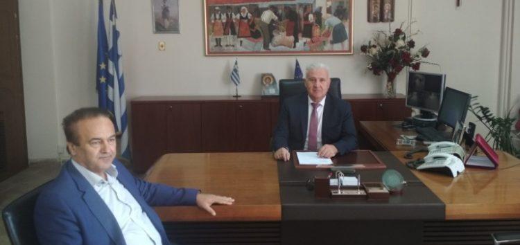 Συνάντηση του βουλευτή Γιάννη Αντωνιάδη με τον αντιπεριφερειάρχη Γιάννη Κιοσέ
