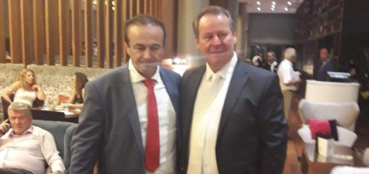 Ο βουλευτής Γιάννης Αντωνιάδης για τη βράβευση της επιχείρησης B&T Composites του Βασίλη Τιριακίδη