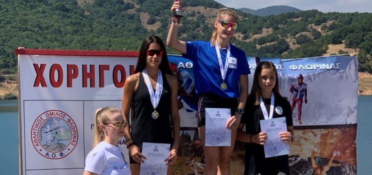 4 ασημένια μετάλλια για τη Μαρία Μπέλλη στον διήμερο διεθνή αγώνα και κύπελλο Ελλάδας Roller Ski