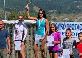 Χρυσό για την Μαρία Μπέλλη στους αγώνες θερινού διάθλου ΕΟΧΑ