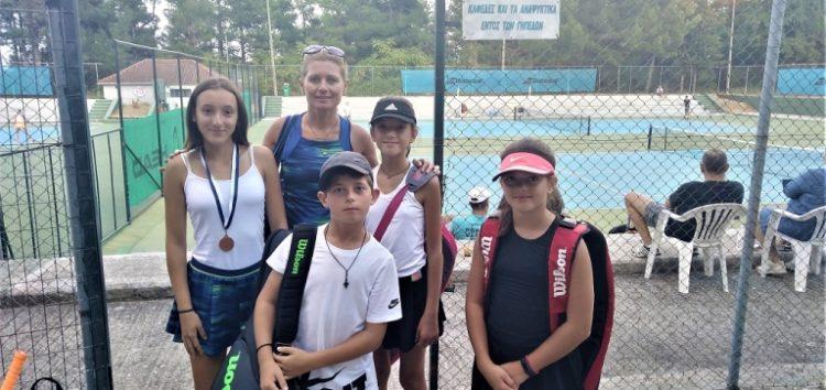 Μετάλλιο για την ομάδα τένις της Λέσχης Πολιτισμού Φλώρινας