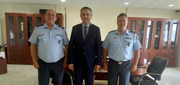 Επίσκεψη του Γενικού Περιφερειακού Αστυνομικού Διευθυντή Δυτικής Μακεδονίας στον Περιφερειάρχη Δυτικής Μακεδονίας
