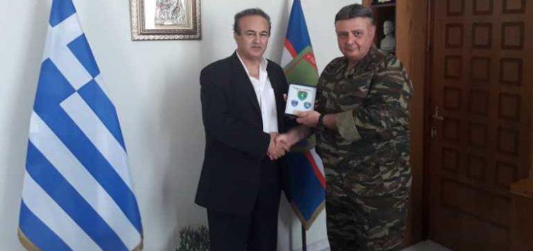Συνάντηση του βουλευτή Γιάννη Αντωνιάδη με τον διοικητή της 9ης Ταξιαρχίας