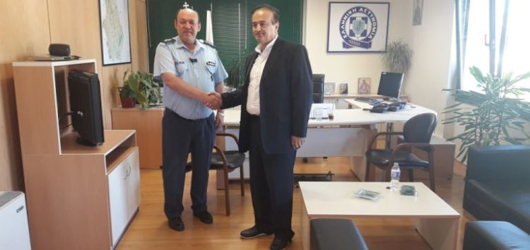 Επίσκεψη του βουλευτή Γιάννη Αντωνιάδη στον Γενικό Αστυνομικό Διευθυντή  Δυτικής Μακεδονίας