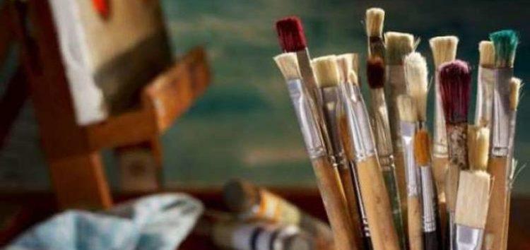 Μαθήματα ζωγραφικής από τη Λέσχη Πολιτισμού Φλώρινας