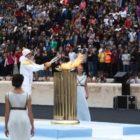 H Ολυμπιακή Φλόγα για την Λωζάνη 2020