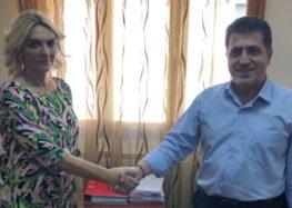 Επίσκεψη της βουλευτή ΣΥΡΙΖΑ Πέτης Πέρκα στο Γενικό Νοσοκομείο Φλώρινας