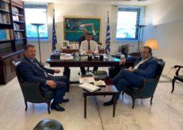 Συνάντηση Αντωνιάδη – Μπιτάκη με τον υφυπουργό Αθλητισμού