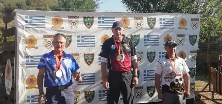 Δεύτερη θέση για τον Ηλία Μούλελη στον Πανελλήνιο Αγώνα Πρακτικής Σκοποβολής τριών όπλων