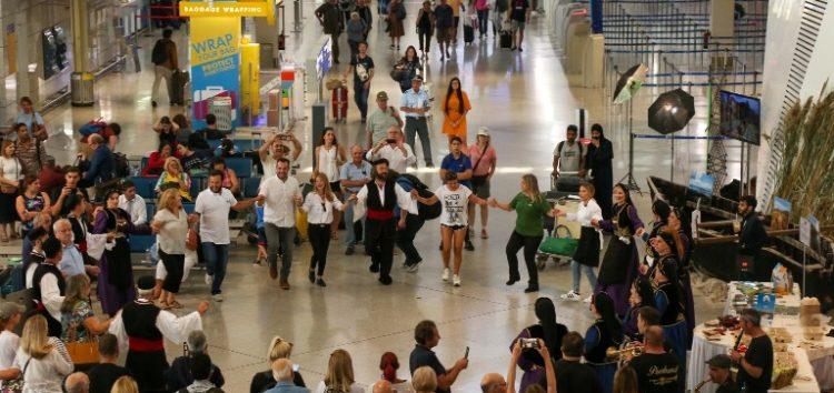 Οι Πρέσπες στο Διεθνές Αεροδρόμιο Αθηνών «Ελευθέριος Βενιζέλος»