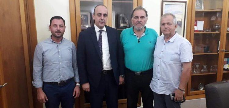 Ο πρόεδρος του Επιμελητηρίου Φλώρινας Σάββας Σαπαλίδης συναντήθηκε με τον δήμαρχο Πάφου