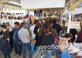 Χιλιάδες επισκέπτες και στη φετινή εμποροπανήγυρη Αμυνταίου (pics)
