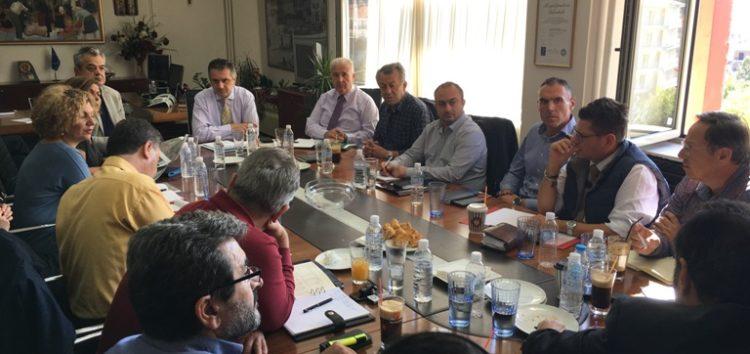 Ενημερωτική συνάντηση – σύσκεψη για την πορεία υλοποίησης του οδικού άξονα «Κοζάνη – Φλώρινα – Νίκη»