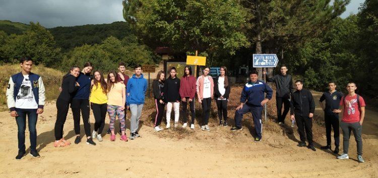 Ορειβατική oμάδα μαθητών του 1ου ΓΕΛ Φλώρινας (pics)