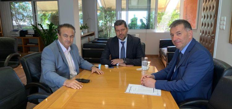 Συνάντηση του βουλευτή Γιάννη Αντωνιάδη και των δημάρχων Φλώρινας και Αμυνταίου με το νέο πρόεδρο της ΔΕΗ