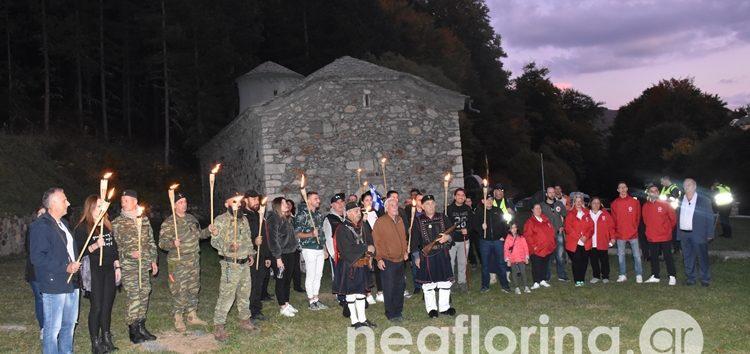Πορεία μνήμης σε ανάμνηση της μεταφοράς της κεφαλής του Παύλου Μελά (video, pics)