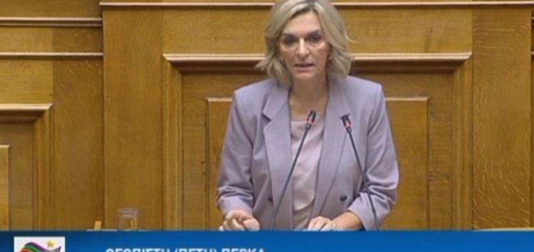 Η Πέτη Πέρκα εισηγήτρια του ΣΥΡΙΖΑ σε σχέδιο νόμου του υπουργείου Υποδομών και Μεταφορών (videos)