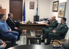 Επίσκεψη του Αρχηγού ΓΕΣ στον δήμο Αμυνταίου