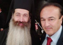 Ο βουλευτής Γιάννης Αντωνιάδης στην ενθρόνιση του νέου μητροπολίτη Φθιώτιδος κ.κ. Συμεών Βολιώτη