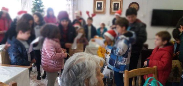 Δράση κοινωνικής προσφοράς ενόψει των Χριστουγέννων από τάξεις του Πειραματικού Δημοτικού Σχολείου Φλώρινας (pics)