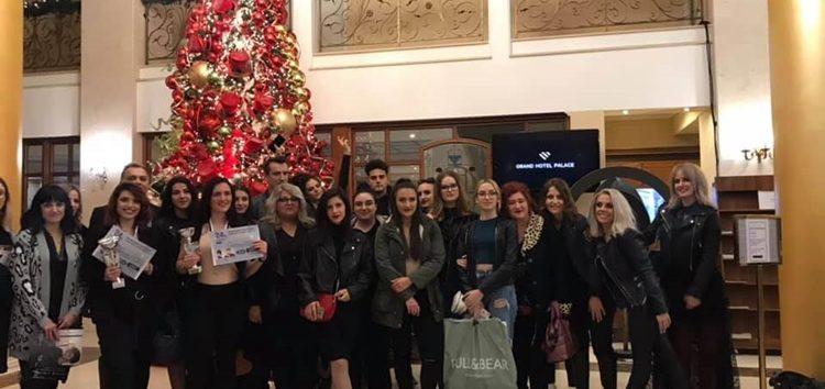 Σάρωσαν τα βραβεία οι σπουδαστές Κομμωτικής και Αισθητικής του Ιδιωτικού ΙΕΚ VOLTEROS σε Βαλκανικό Φεστιβάλ στη Θεσσαλονίκη