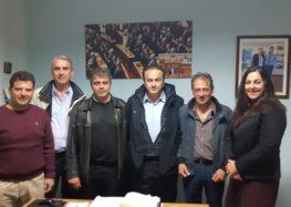 Συνάντηση του Συλλόγου Εκπαιδευτικών Πρωτοβάθμιας Εκπαίδευσης Φλώρινας με τον βουλευτή Γιάννη Αντωνιάδη