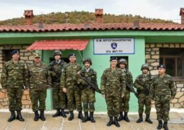 Επίσκεψη Αρχηγού ΓΕΣ στα Επιτηρητικά Φυλάκια της 9ης Μ/Π ΤΑΞ ΠΖ