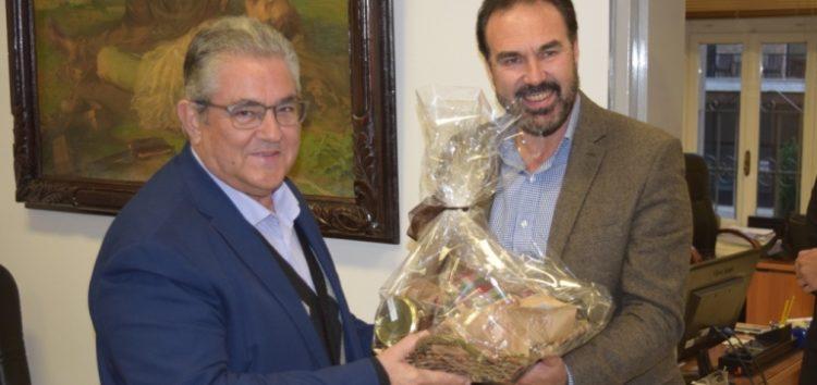 Συνάντηση του δημάρχου Φλώρινας με τον Γ.Γ. της ΚΕ του ΚΚΕ (pics)
